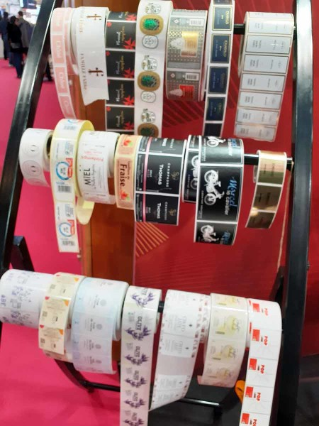 Large choix d'étiquettes en papier et synthétique