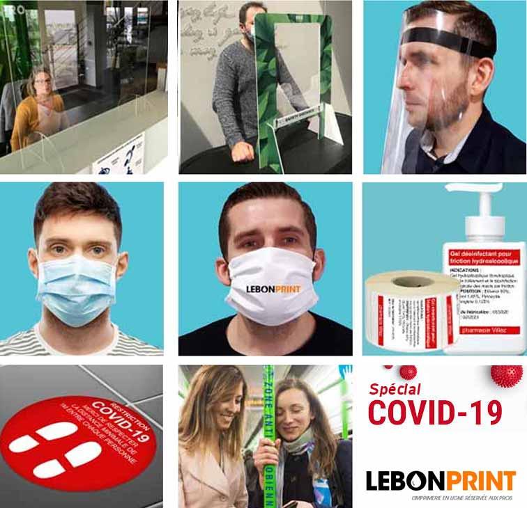 Covid19 - Imprimer votre communication